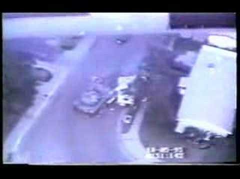 A Stolen Tank On A US Road, Tremendous Damage!