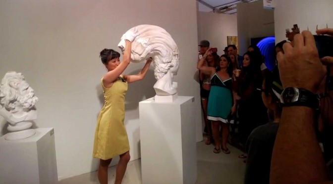Amazingly Flexible Statue-Like Sculptures