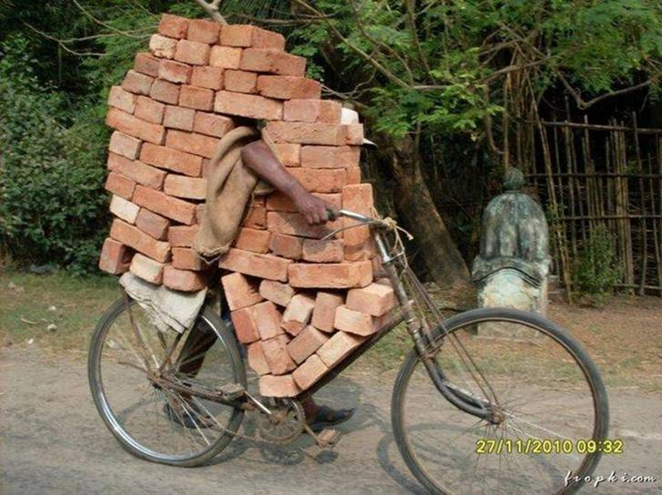 The brick-man