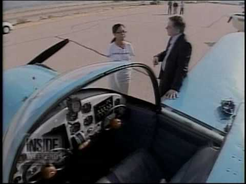 A Female Pilot Without Arms who Can Fly An Aeroplane