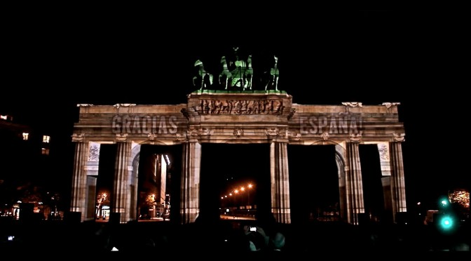 3D Mapping to Commemorate the 25th Anniversary of the Fall of the Berlin Wall