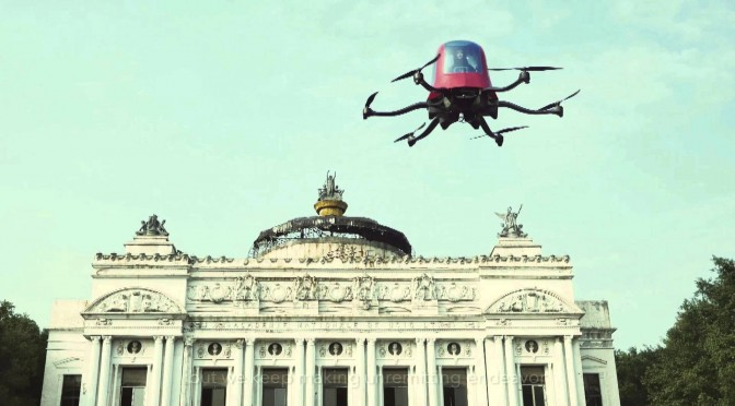 EHANG 184 – A Human Carrying Drone