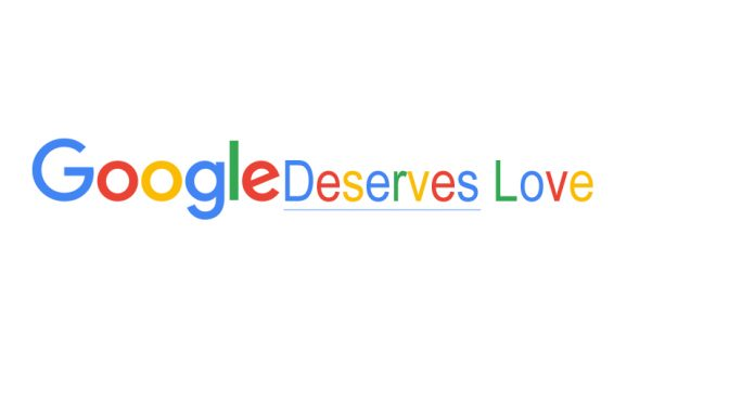 Why Google Deserves Our Love