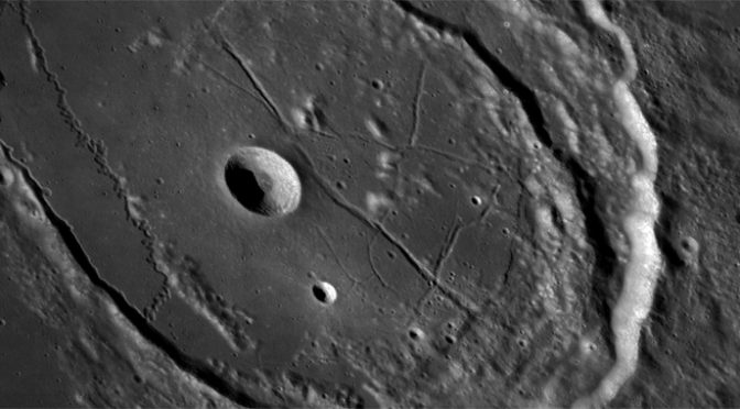 Look at Moon's Asteroid craters (and our traces) like Never Before